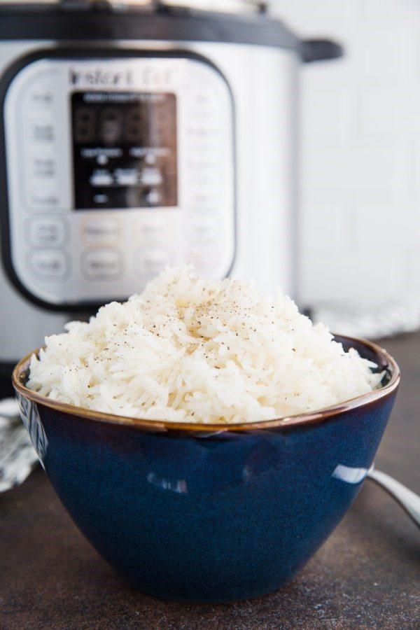 Quick Instant Pot Basmati Rice