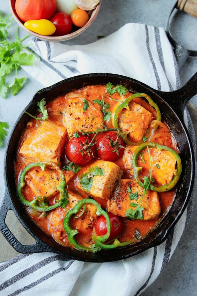 Salmon Stew Recipe