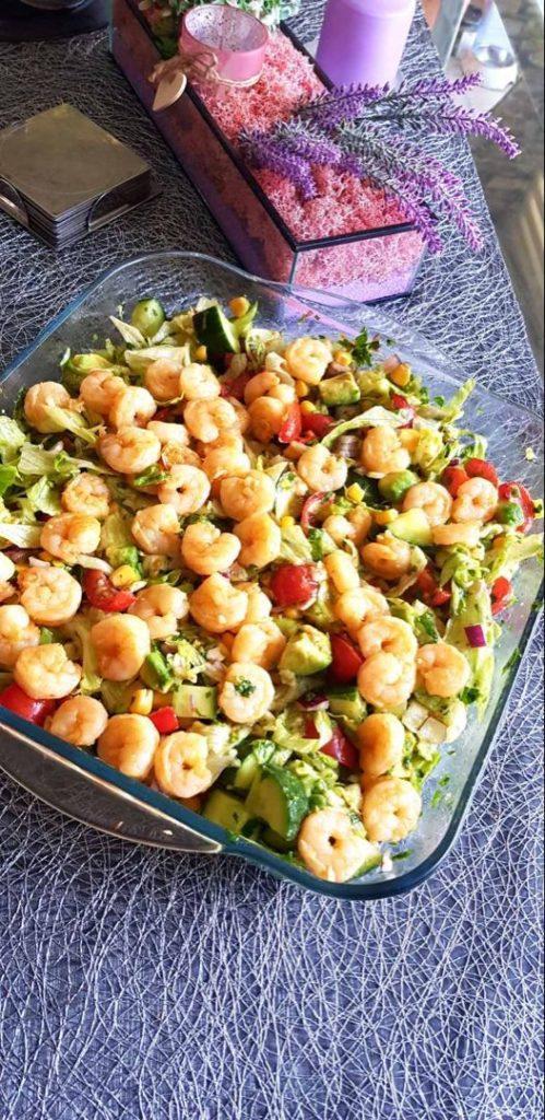 How to Make Shrimp Avocado Salad