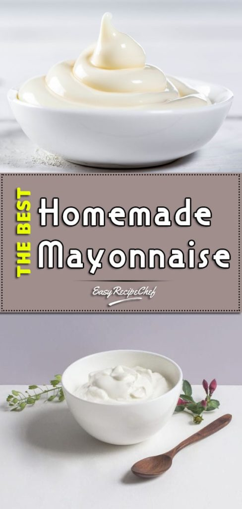 The Best Homemade Mayonnaise