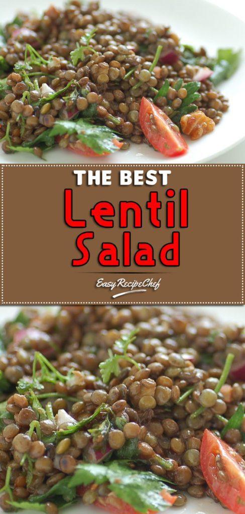 The Best Lentil Salad
