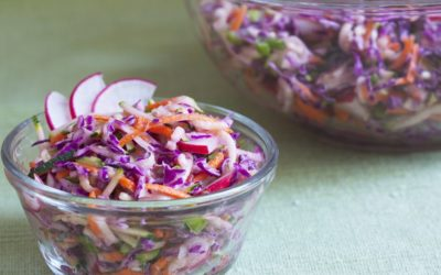 The Best Coleslaw with Homemade Dressing