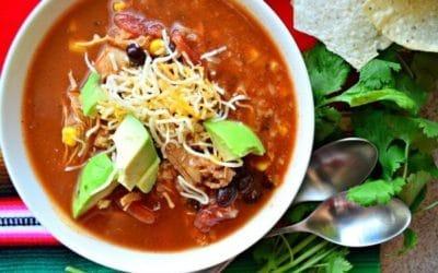 30-Minute Chicken Tortilla Soup