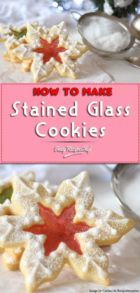 How To Make Stained Glass Christmas Cookies