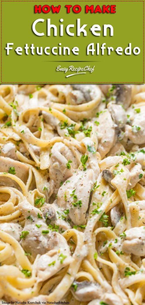 The Best Chicken Fettuccine Alfredo-min