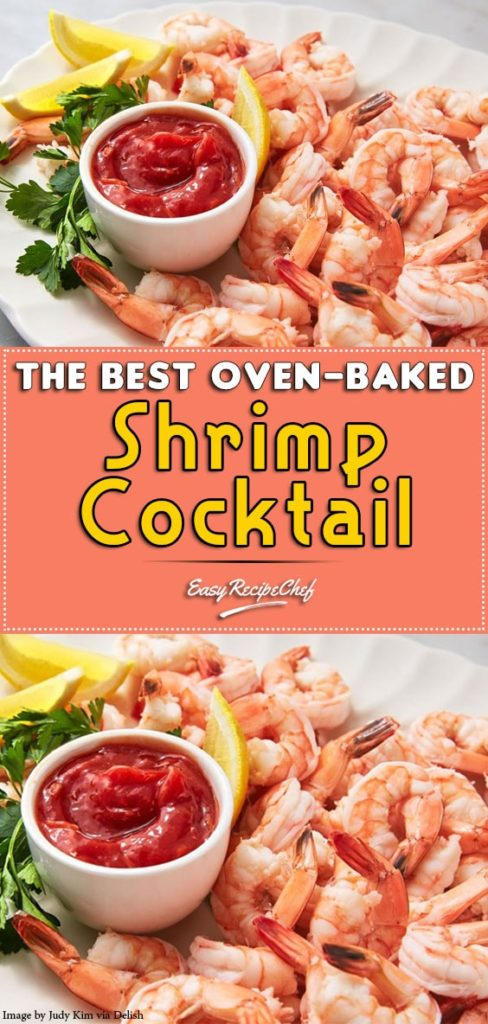 The Best Oven-baked Shrimp Cocktail