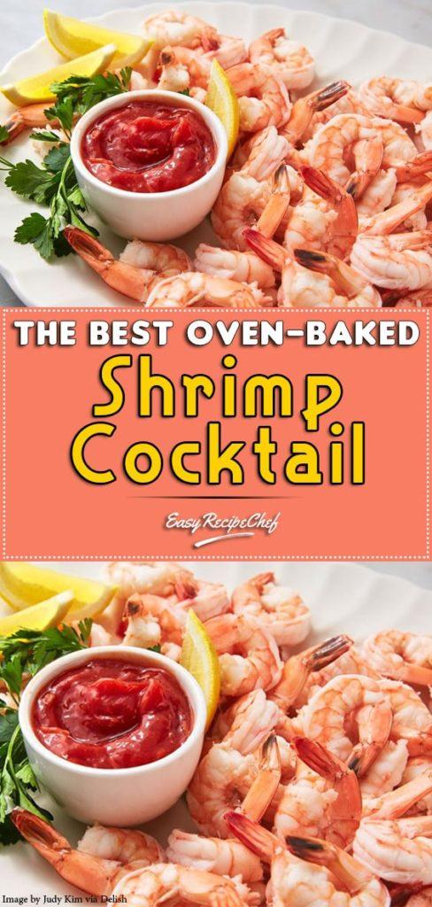 The Best Oven-baked Shrimp Cocktail