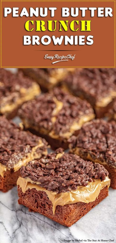 How To Make Peanut Butter Crunch Brownies