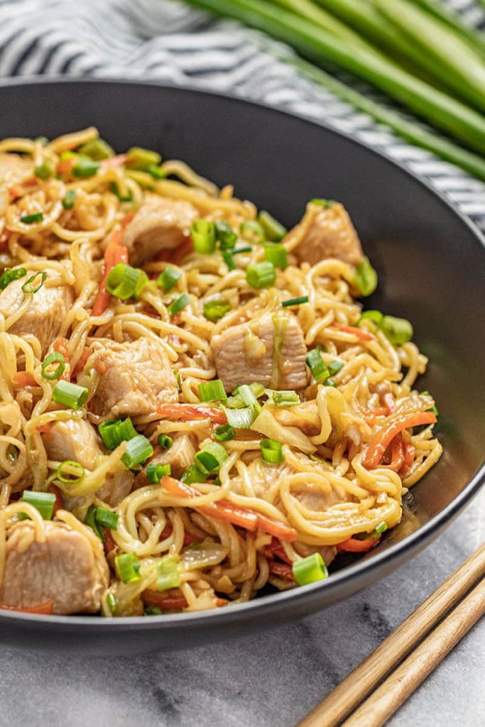 How To Make Easy Chicken Chow Mein