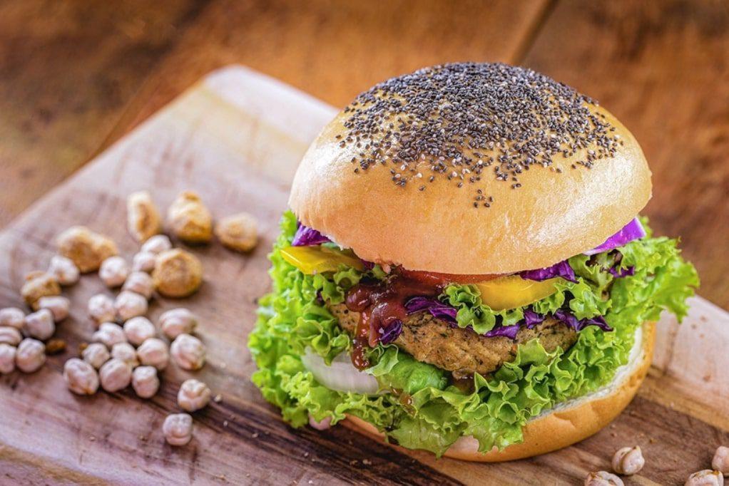 Chickpea and mushroom patties