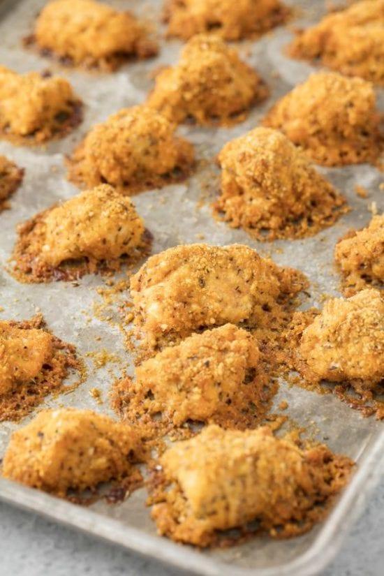Baked Buffalo Chicken Nuggets Recipe