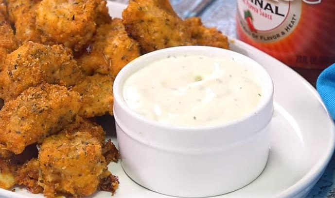 Best Baked Buffalo Chicken Nuggets Recipe